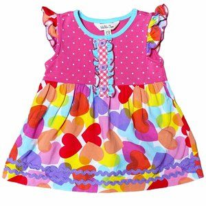 Matilda Jane | My Valentine Hearts Ruffle Top